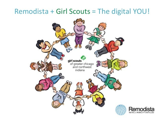 Remodista  +  Girl  Scouts  =  The  digital  YOU!