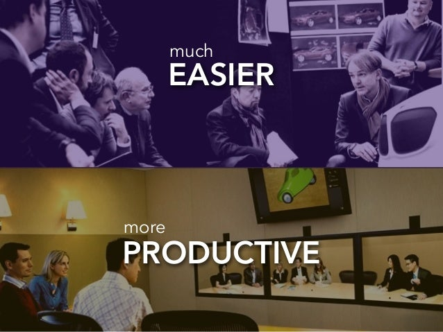 EASIER much  more  PRODUCTIVE