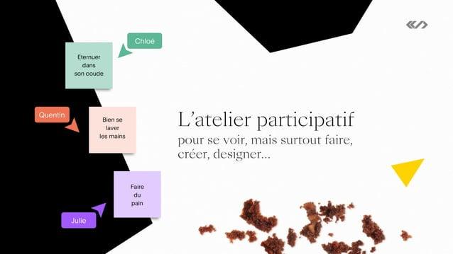 3. L'atelier participatif, pour se voir, mais surtout faire, créer, designer… 23