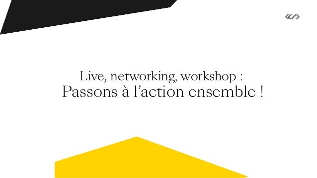 Live, networking, workshop : étonnons nos moments collectifs ! - Remote by Spintank