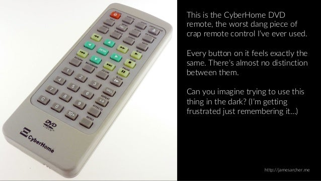 Empathy in Design: Is this the best-designed remote control...ever? Slide 2