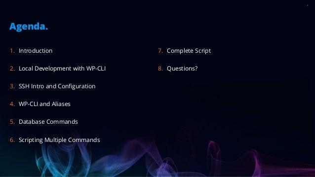 Remote Control WordPress Slide 2