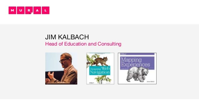 JIM KALBACH Head of Education and Consulting