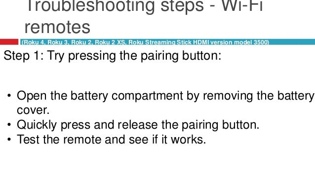 How to Fix Not responding Roku Remote with the help of