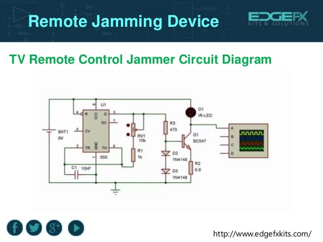 tv remote jammer 555 timer projects final year engineering projec\u2026tv remote jammer circuit design remote jamming device; 12