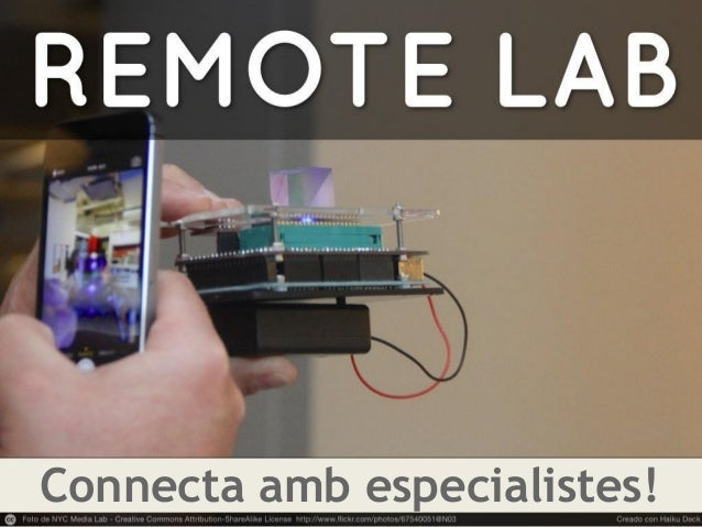 Connecta amb especialistes!