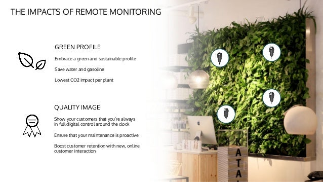Spiio, Remote Monitoring Of Living Walls By Martin Dal