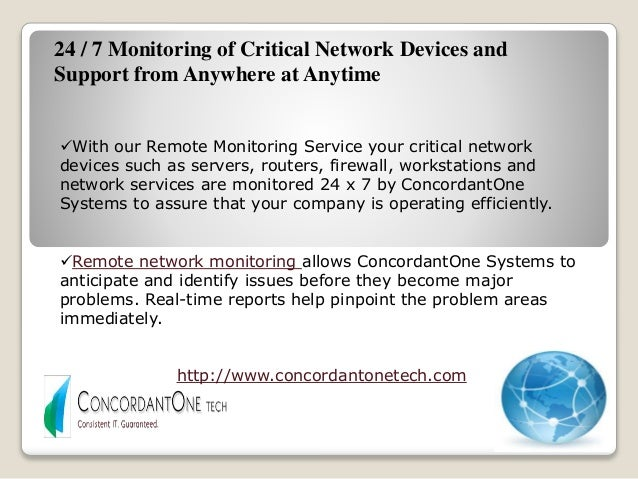 Remote Network Monitoring Services