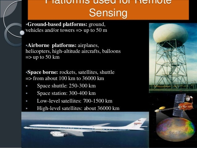 what is remote sensing and its applications
