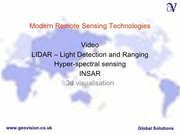 remote sensing applications in environmental monitoring