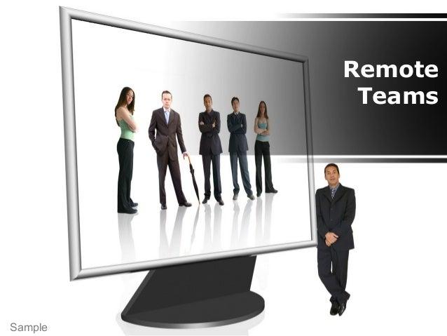 Remote Teams Sample