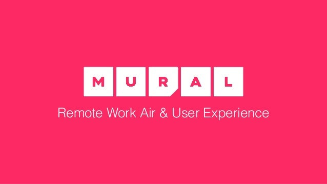 Persona Remote Work Air & User Experience