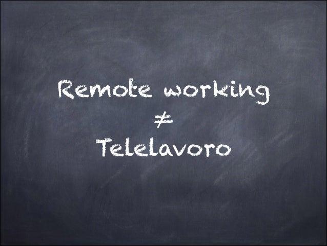 Remote working istruzioni Slide 3