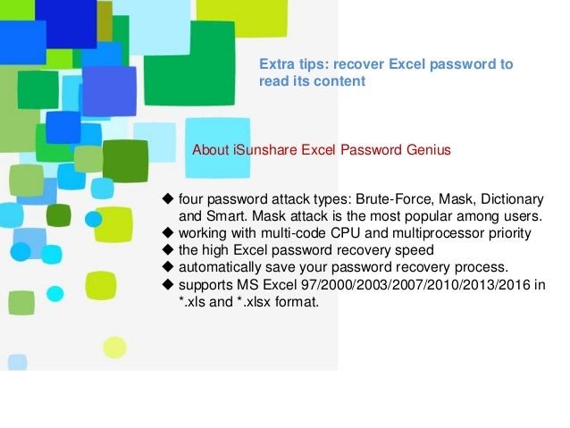 remove password from excel 2003