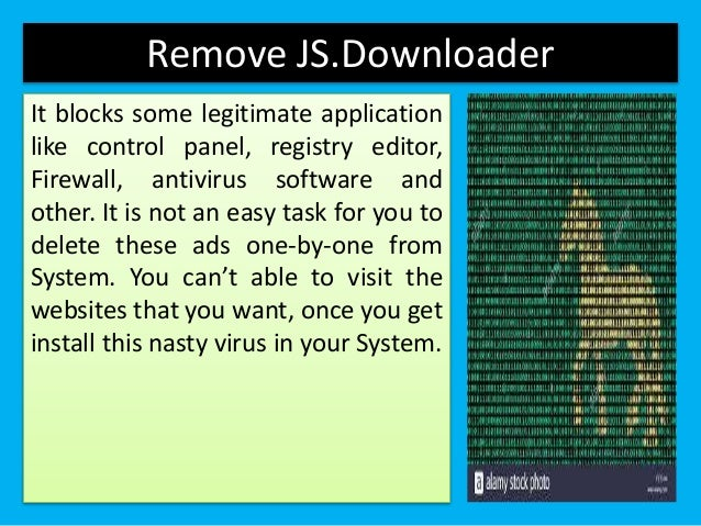 Remove js.downloader from PCs