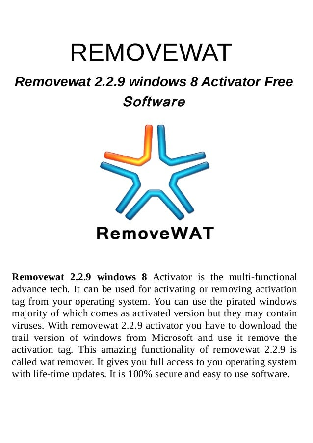 removewat 2.2 9