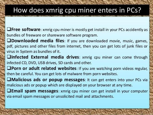 Remove xmrig cpu miner (Complete Removal Steps)