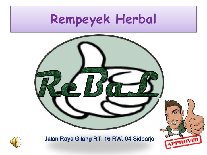 Rempeyek HerbalJalan Raya Gilang RT. 16 RW. 04 Sidoarjo
