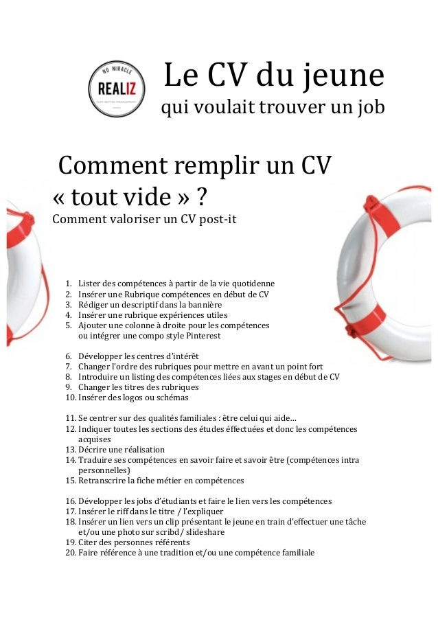 comment faire un cv quand on a 17 ans Comment Faire Un Cv Quand On A 16 Ans | sprookjesgrot comment faire un cv quand on a 17 ans