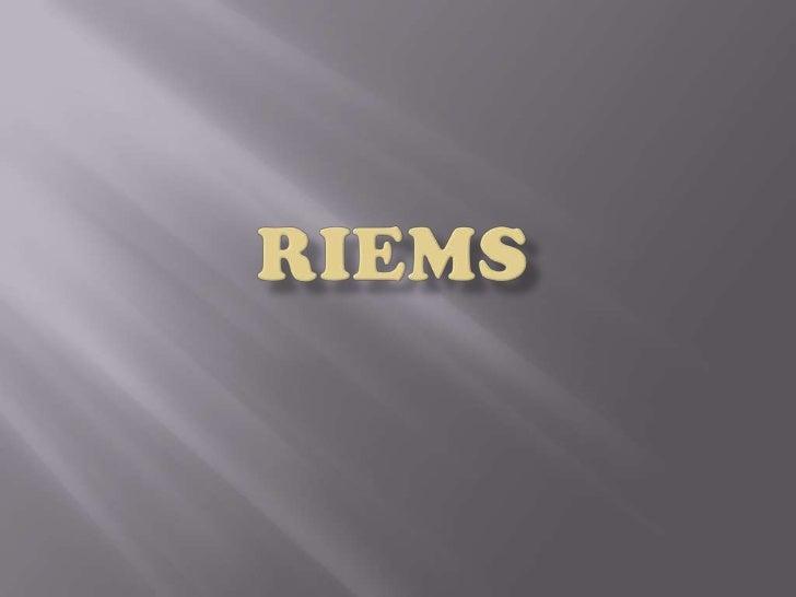 RIEMS<br />