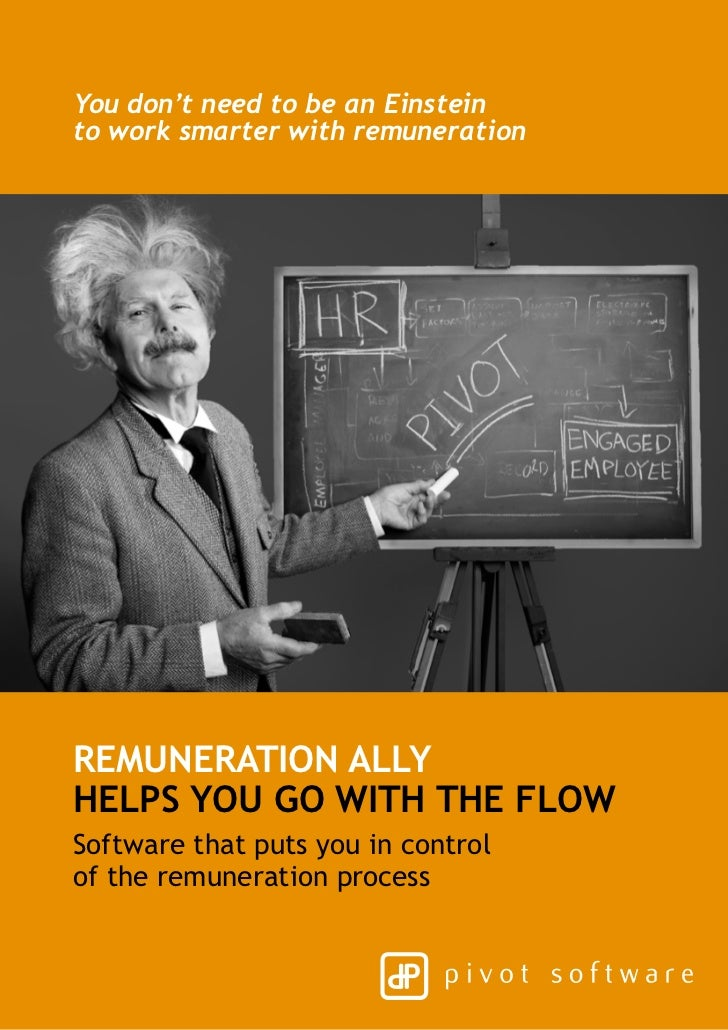 You don't need to be an Einsteinto work smarter with remunerationRemuneration Allyhelps you go with the flowSoftware that ...