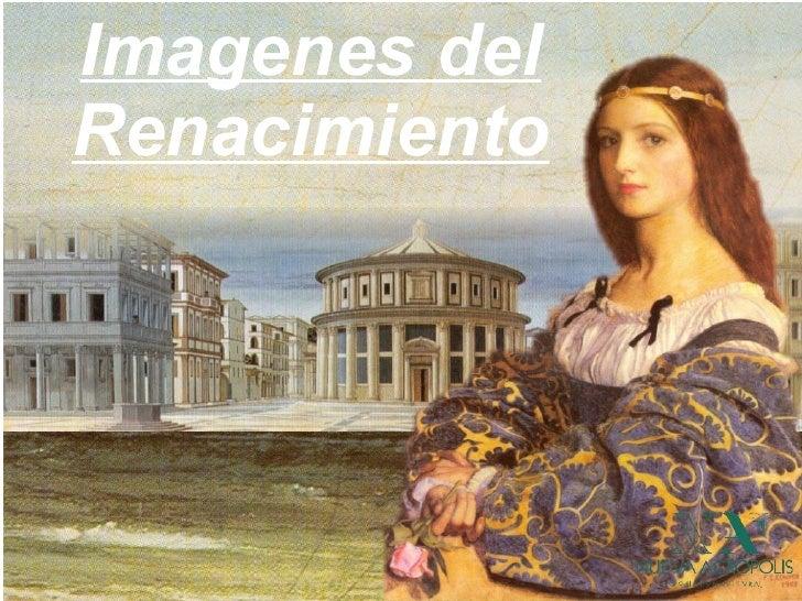 Imagenes del Renacimiento