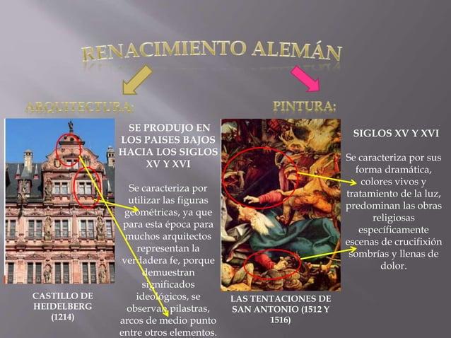 CASTILLO DE HEIDELBERG (1214) SE PRODUJO EN LOS PAISES BAJOS HACIA LOS SIGLOS XV Y XVI Se caracteriza por utilizar las fig...