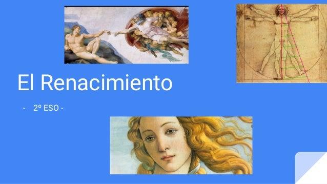 El Renacimiento - 2º ESO -