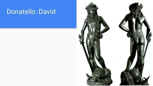 Donatello: David