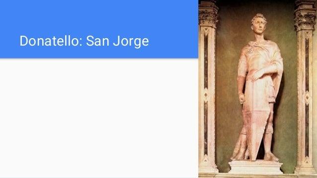 Donatello: San Jorge