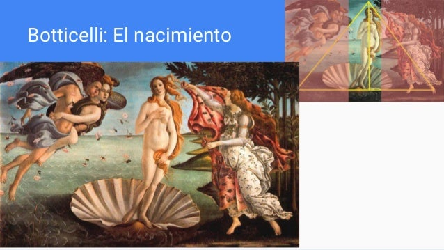 Botticelli: El nacimiento