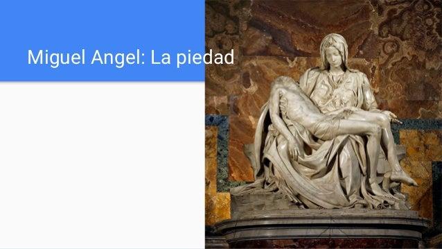 Miguel Angel: La piedad