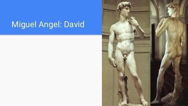 Miguel Angel: David
