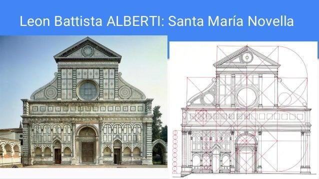 Leon Battista ALBERTI: Santa María Novella