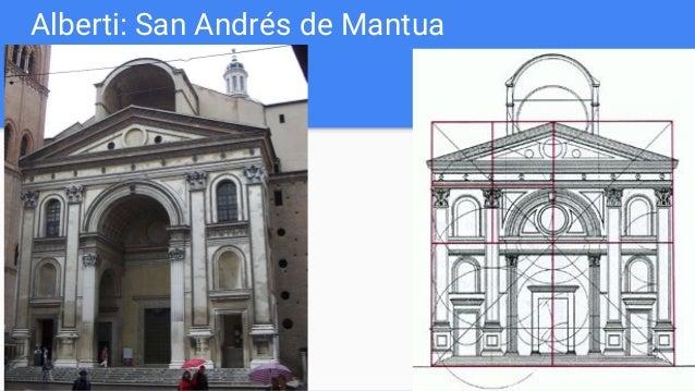Alberti: San Andrés de Mantua