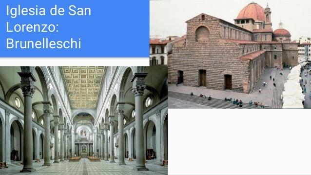 Iglesia de San Lorenzo: Brunelleschi