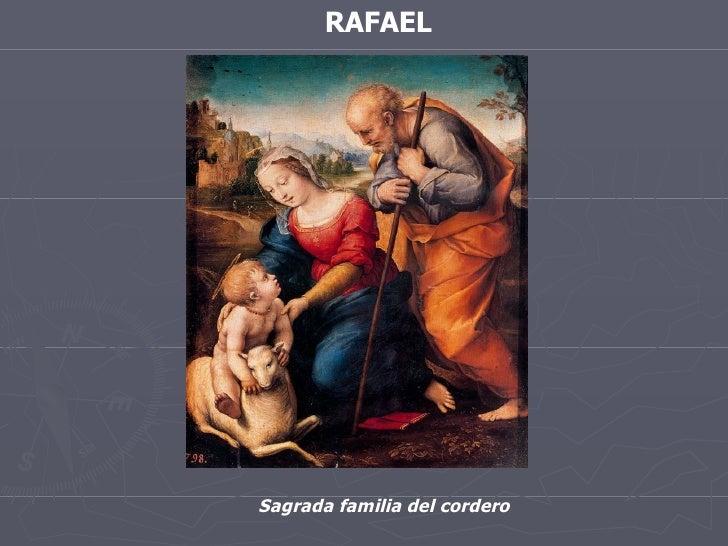 RAFAEL Sagrada familia del cordero