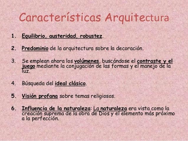 Renacimiento cinquecento for Caracteristicas de la arquitectura