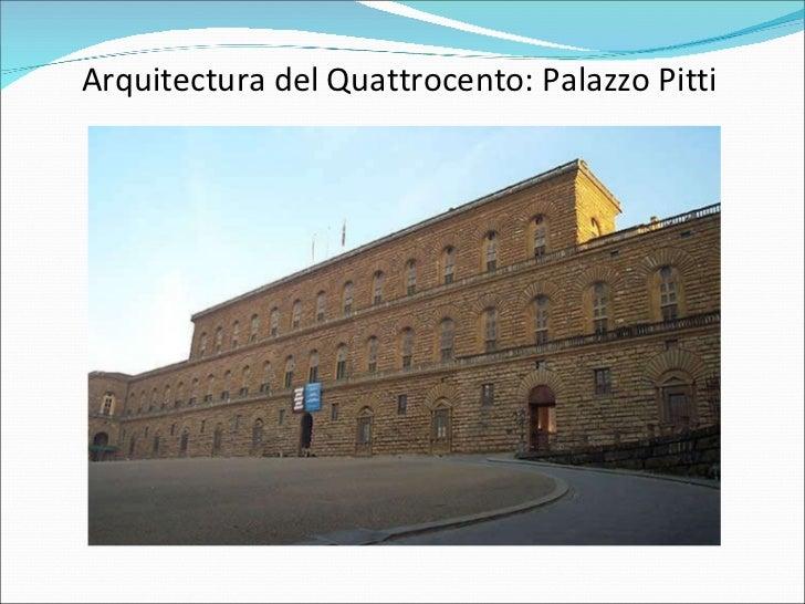 Renacimiento escultura arquitectura for Arquitectura quattrocento y cinquecento