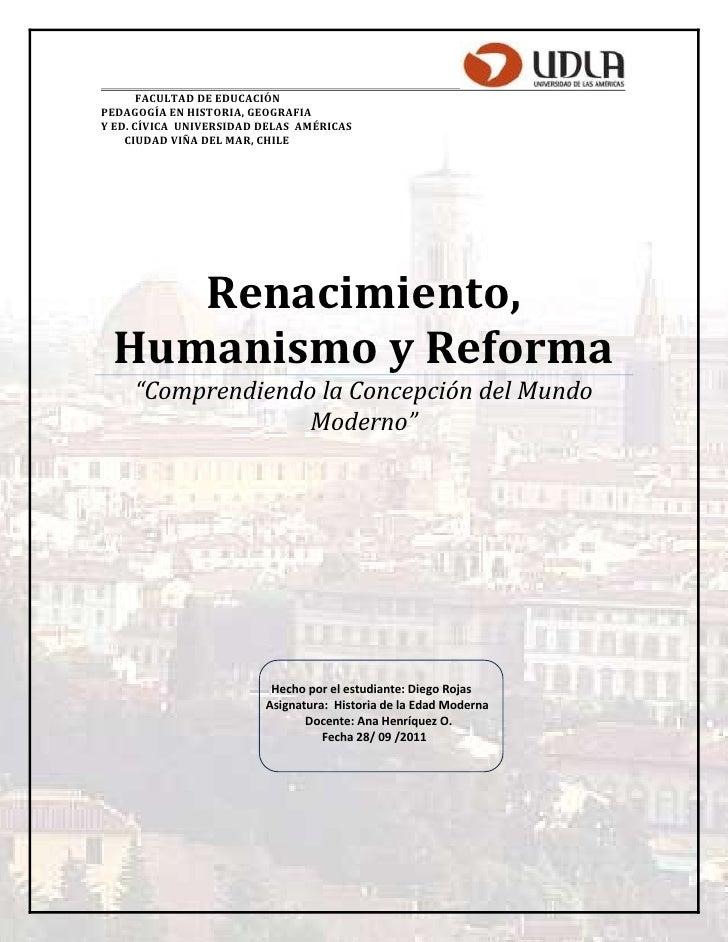 FACULTAD DE EDUCACIÓNPEDAGOGÍA EN HISTORIA, GEOGRAFIAY ED. CÍVICA UNIVERSIDAD DELAS AMÉRICAS    CIUDAD VIÑA DEL MAR, CHILE...