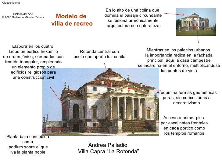 Renacimiento principales caracter sticas en arquitectura for Caracteristicas de la arquitectura