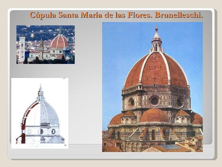 Cúpula Santa María de las Flores. Brunelleschi.