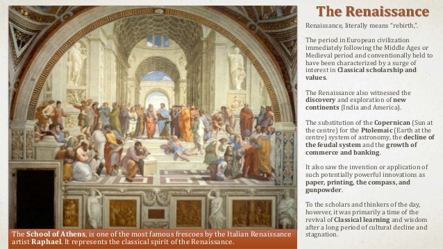 The study of western philosophy