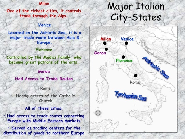 Renaissance 20 italian city states sciox Image collections