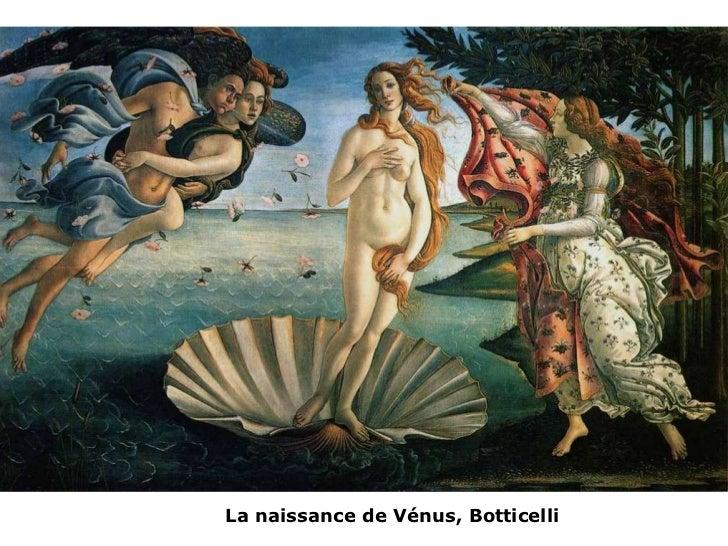 La  naissance  de  Vénus, Botticelli