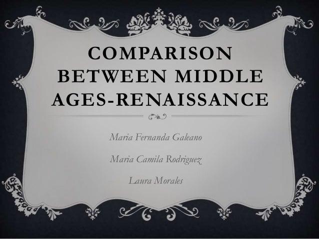 renaissance central age ranges comparison essay