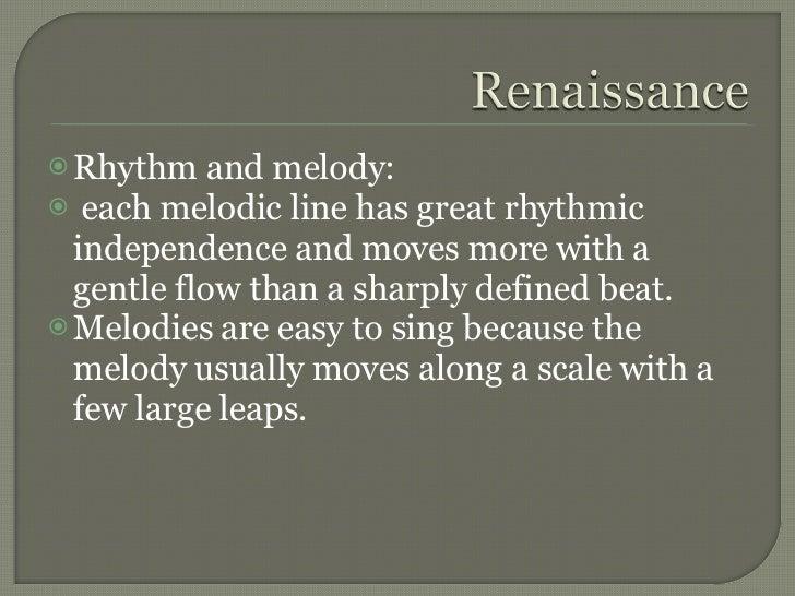 renaissance melody