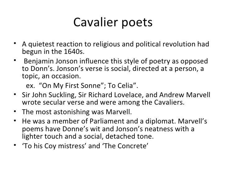Cavalier Poetry