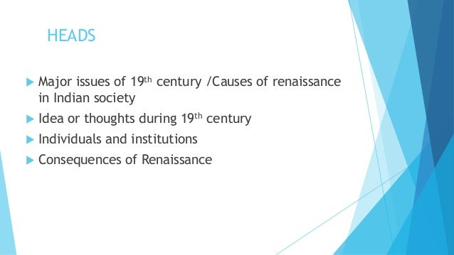 indian renaissance in the 19th century