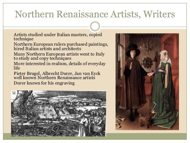 Southern italian renaissance vs northern european Term paper